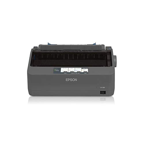 Epson C11CC24001 LX-350 Dot Matrix Printer - 9 pin - Up to 347 char/sec - Parallel/Serial/USB - (Renewed) by Epson (Image #1)