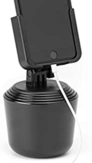 WeatherTech CupFone Universal Cup Holder for Car Phone Mount Automobile Cradle Compatible with iPhone and Cell