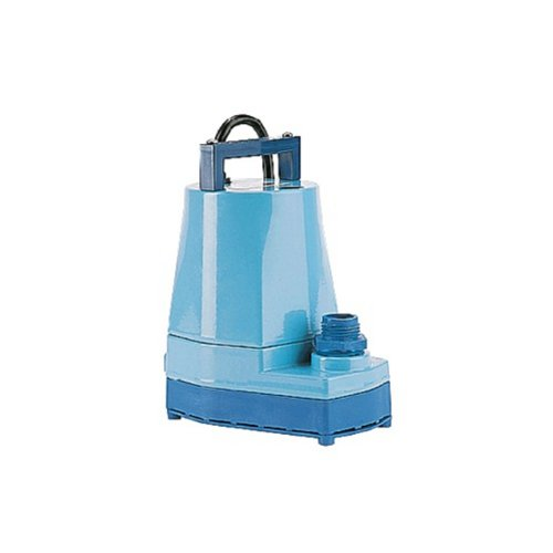 Little Giant 505176 5-MSP 1/6 Horsepower 115V Water Wizard 5 Series Submersible Utility Pump (5 Msp Submersible Pump)