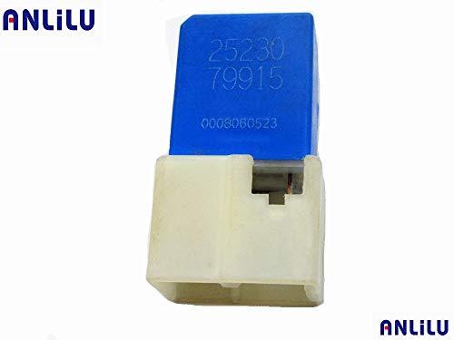 Fincos for Nissan Fog Lights Air Con Throttle Motor 4-Pin Blue Relay 25230-79917 ()