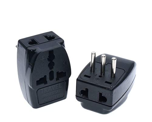 Italian Plug Type L Universal Travel Adapter 1 to 3 Outlet Power Plug 250V 10A