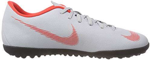 Tf Nike black 001 Crimson Vapor Uomo Indoor Club lt Scarpe Grey Da Calcetto wolf 12 Multicolore 66tZrBnx1