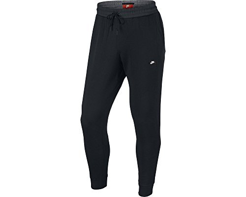 Nike Mens Modern Jogger Light Weight Pants Black/Black 832172-010 Size X-Large