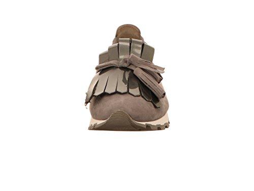 maca_kitzbühel Women's Loafer Flats Grey vuek4