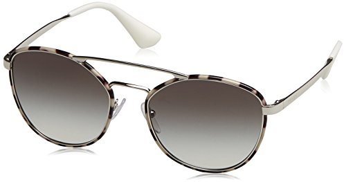 Prada Women's Cinema Aviator Sunglasses, Spotted Opal Brown/Grey, One - Cinema Sunglasses Prada 2017