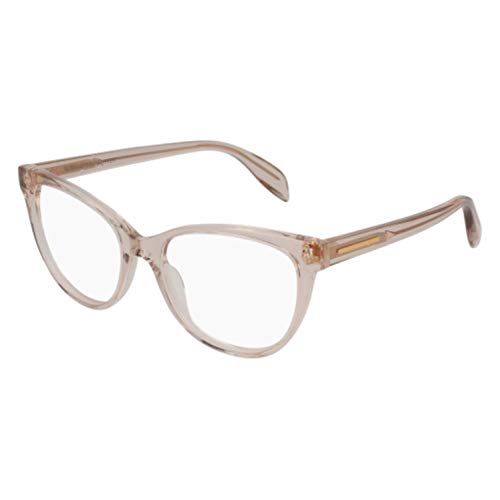 Eyeglasses Alexander McQueen AM 0114 O- 005 BEIGE /