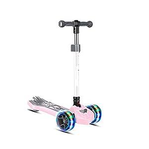 FQCD Monopattino High End Scooter City-Roller Pieghevole, richiudibile con Altezza Regolabile, Monopattino Kickscooter…