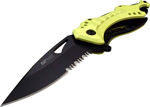 MTECH USA MT-A705NYL Spring Assisted Knife