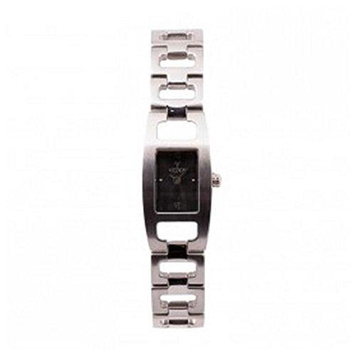Viceroy Reloj analogico para Mujer de Cuarzo con Correa en Acero Inoxidable 47082-18: Amazon.es: Relojes
