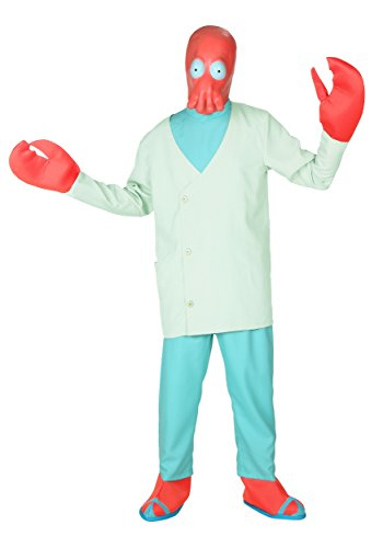 Bender Costume (Dr. Zoidberg Costume X-Large)