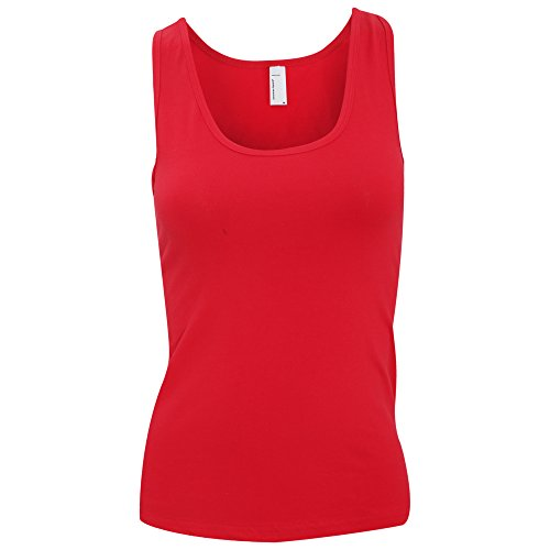 American Apparel Womens/Ladies Sleeveless Cotton Spandex Vest/Tank Top