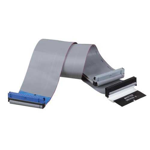 Tripp Lite Internal Dual Ultra 33/66/100 ATA/DMA EIDE Ribbon Cable (3Conn 40P), 18-in.(P906-18I)