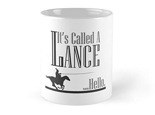 A Knight'S Tale Lance Joust Mug - 11oz Mug - Made from Ceramic