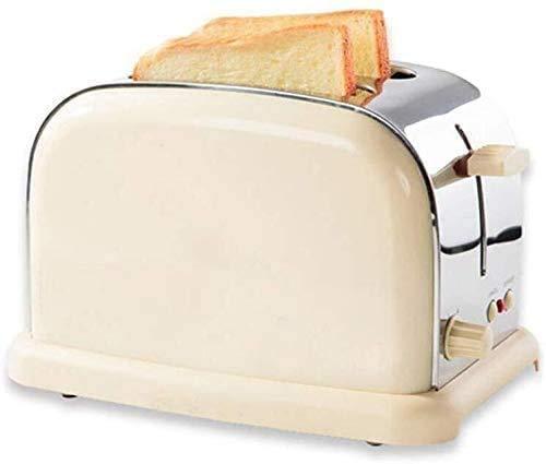 ykw 2 Slice Toaster,Baked On Both Sides Has 6 Baking Settings,Bread Machine