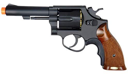 AirSoft Gas Powered Revolver Pistol HFC HG 131 Black