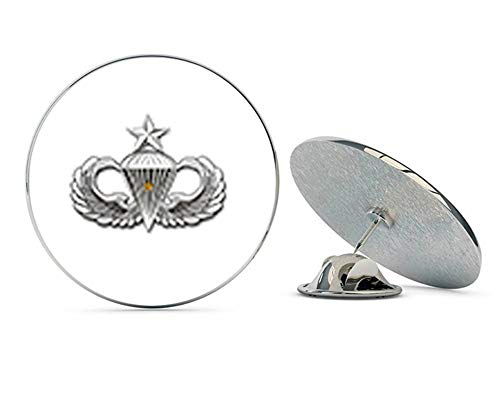 """Veteran Pins US Army Senior 1 Combat Jump Wings Metal 0.75"""" Lapel Hat Pin Tie Tack Pinback"""
