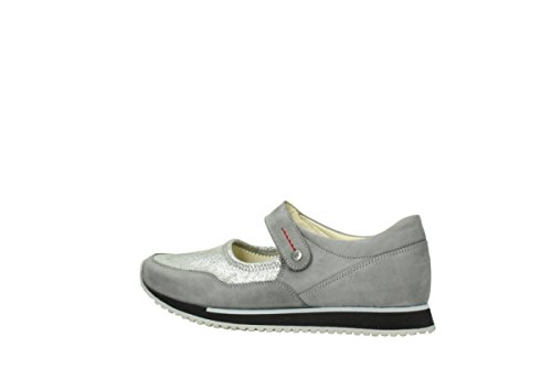 e grey Mary Comfort Wolky leather 20200 Step Janes CqOz6wt
