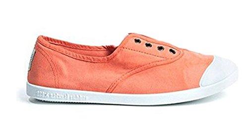 Potomac Canvas Sommer Sneaker Halbschuhe Slipper orange chicle