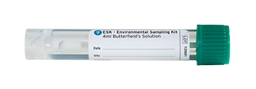 Esk Environmental Sampling Kits With Pre Filled 4Ml Sterile Butterfields Solution  Polystyrene Handle  4 06  Length  Case Of 300