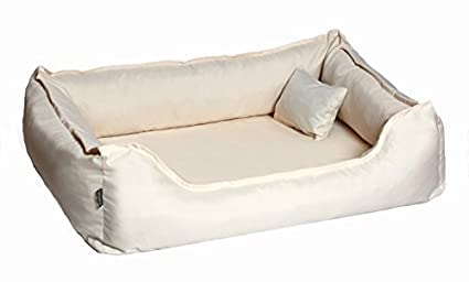 Cama de perro DONALD ORTO Vital Anti-pelo 120cm XL crema Revestimiento de teflón con