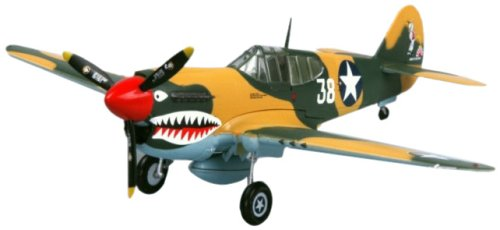 Easy Model P-40E Tomahawk 16FS 23FG 1942 Building Kit - Tomahawk Model