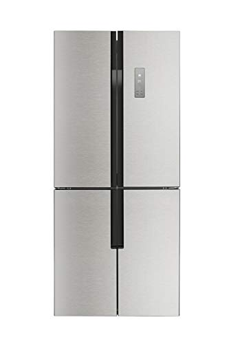(Lycan 30 French 4-Door Refrigerator Freestanding Stainless Steel 15.3cu.ft)