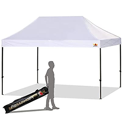 ABCCANOPY Ez Pop-up Canopy Tent Commercial Instant Canopy with Roller Bag