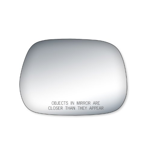 ota RAV4 Passenger Side Replacement Mirror Glass (Toyota Rav4 Manual Mirror)