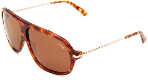 Sabre Purple Haze SV31-2-3 Aviator Sunglasses,Gloss & Matte Tortoise Frame/Bronze Lens,One Size