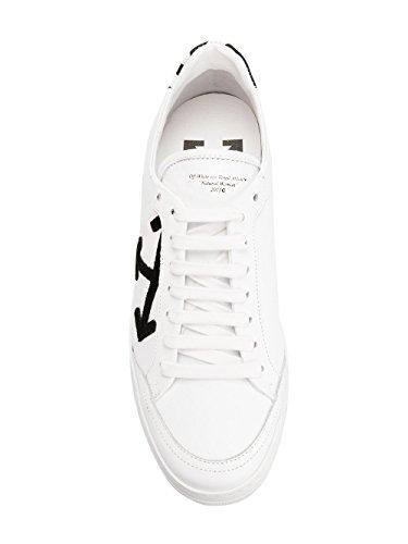 Off-white Damen Owia093s187860010110 Weiss Leder Scarpe Da Ginnastica