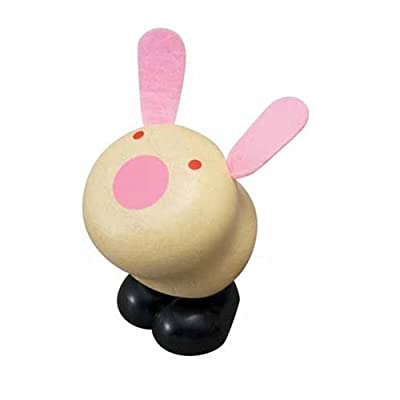 PLAN TOYS Hopping Bunny: Toys & Games
