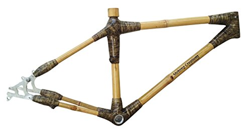 Bamboo Mountain Bike Frame with aluminum parts