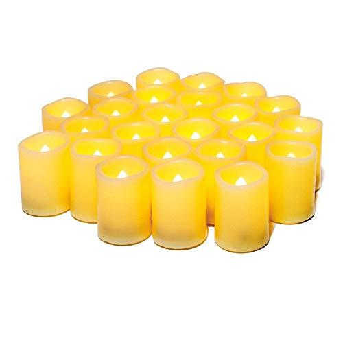 WIFUME Flameless LED Votive Candles - 24 Pack