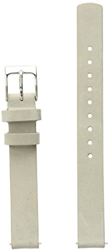 Skagen SKB2041 12mm Leather Calfskin Grey Watch Strap (Bands Replacement Watch Skagen)