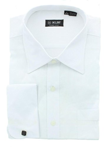 Milani Luxury Fit Dress Shirt With French Cuffs