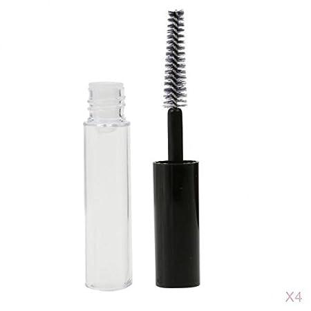 MagiDeal 4 X Plástico Botella Vacía de Crecimiento Máscara de Pestañas Brillo de Labios Líquido Transparente 4ML: Amazon.es: Belleza