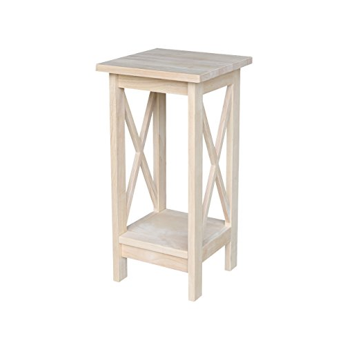 International Concepts OT-3071X Plant Stand, 24 inch, (Unfinished Wood Plant Stand)