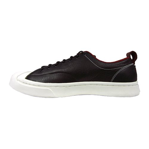 Converse Jack Purcell M-Series Tumbled Leather Ox Black Red Block Egret  Men s Lace up Casual Shoes  Amazon.co.uk  Shoes   Bags f2af13e4f