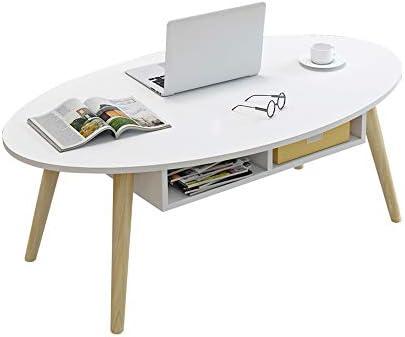 Table XIAOYAN Mesa de Centro nórdica con cajones, Mesa para Sala ...