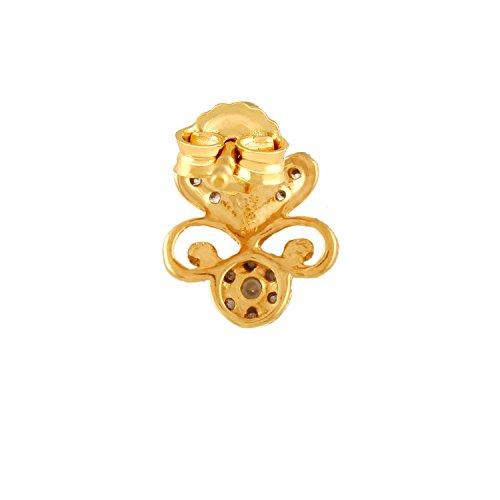 Giantti 14carats Diamant pour femme Boucles d'oreille à tige (0,31CT, VS/Si-clarity, Gh-colour)
