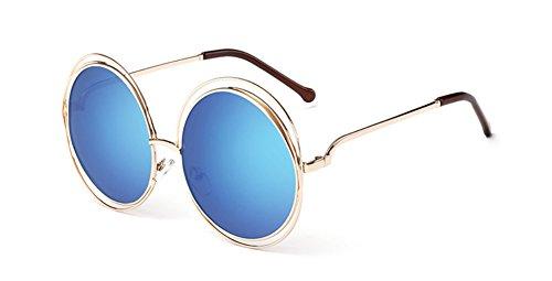 de Película de Gafas Salvaje Sol del de de Lentes Skyeye del Gafas de Las las la Señoras Gafas las de de Sol Marco Gafas Párrafo de Alrededor de del Mercurio del UV Fox Mismas Sol Color Protección de XqZxv1