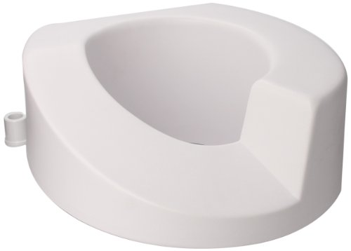 Maddak Right Elongated Elevated Toilet Seat (725921001) (Seat Ette Elevated Toilet Tall)