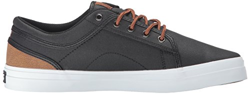 DVS Shoes Men's Aversa Skateboarding Shoe Black - Schwarz (Blk Brn Canvas 962) OFh05