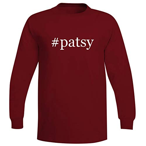#Patsy - A Soft & Comfortable Hashtag Men's Long Sleeve T-Shirt, Red, XX-Large
