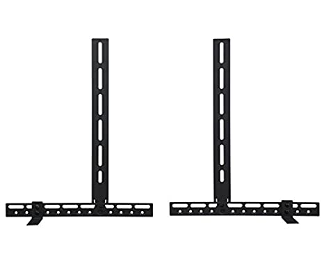TV Sound Bar Bracket Mount Position Above or Below TV and With or Without TV Wall Mount
