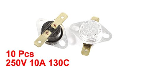 Uxcell Uxcell Temperature Switch 10 Piece UXCE9 a14041600ux0275
