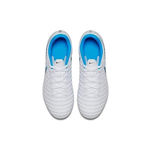 'Tiempo Fg Kids Jr blue Ah7255 Club Cool 107 Nike Grey Wit Legend 7 Hero Voetbalschoenen metallic 5w1XpqC
