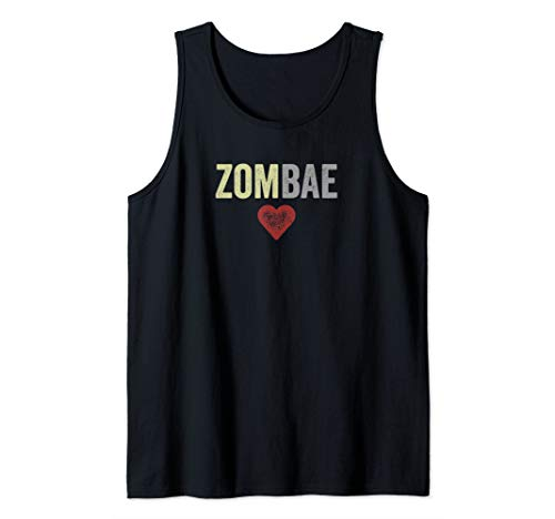 Zombae Halloween Couple Before Anyone Else for Zombie Lovers Tank Top]()
