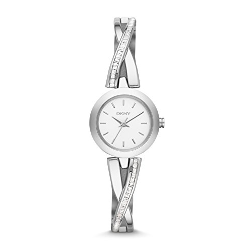 DKNY Crosswalk White Dial Stainless Steel Ladies Watch NY2173