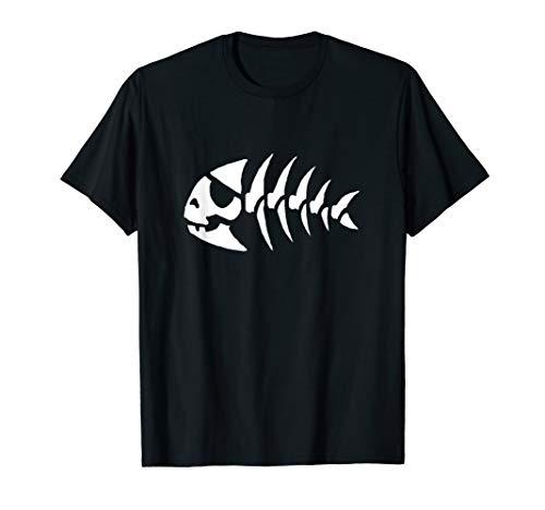 Fish Flying T-shirt - Funny Pirate Fish Flying Spaghetti Monster T-shirt